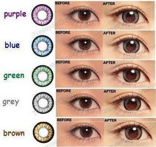 Geo Circle Contact Lenses