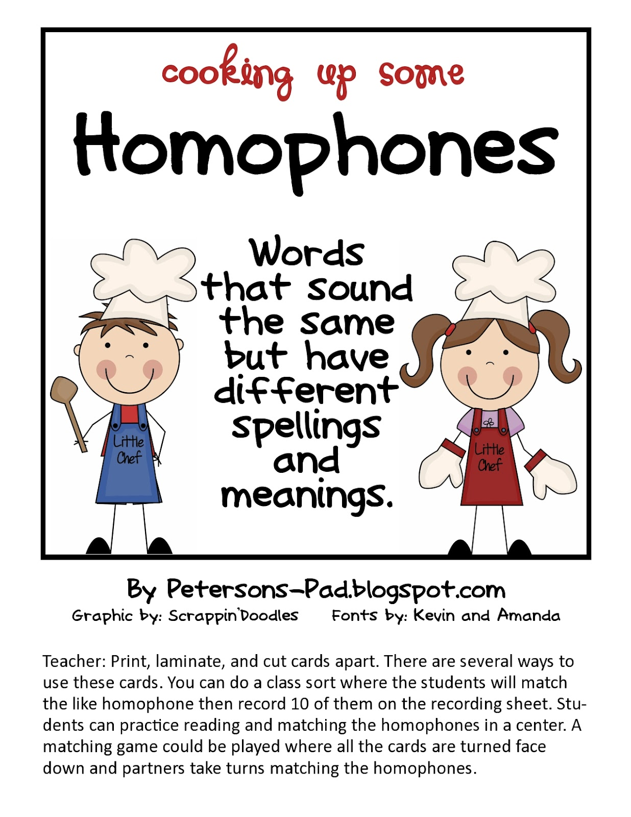 What Are Homophones Anyway
