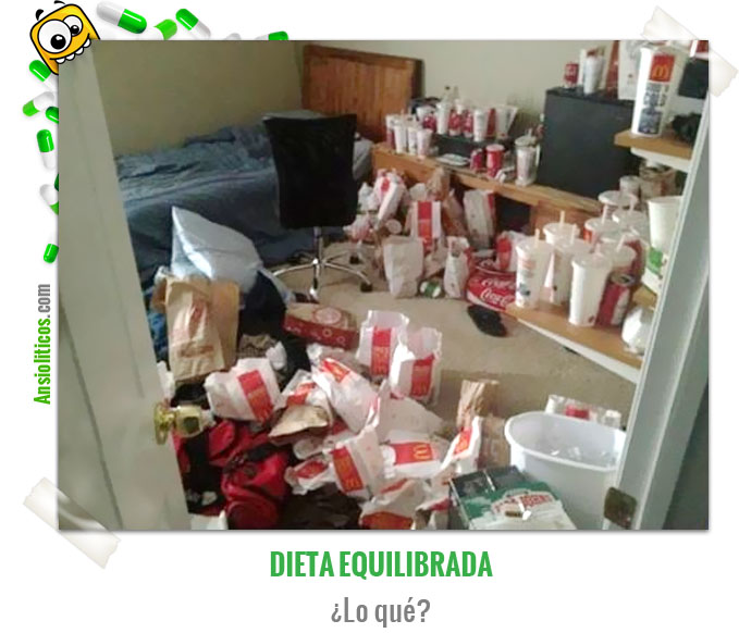 Chiste de Comida Basura: Dieta McDonald's