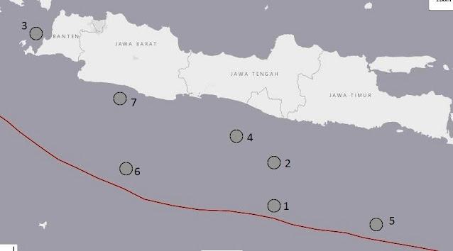 tsunami selatan jawa