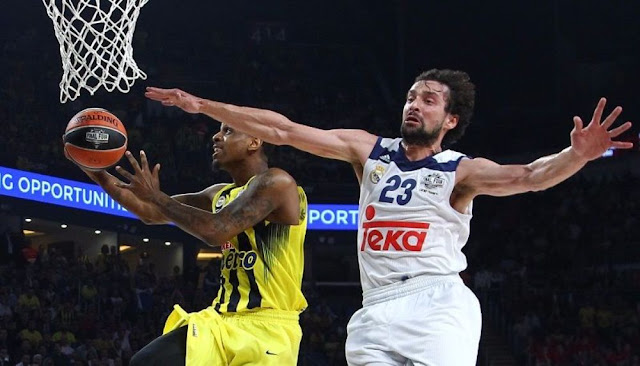 أولمبياكوس وفنربهتشه إلى نهائي الدوري الأوروبي لكرة السلة