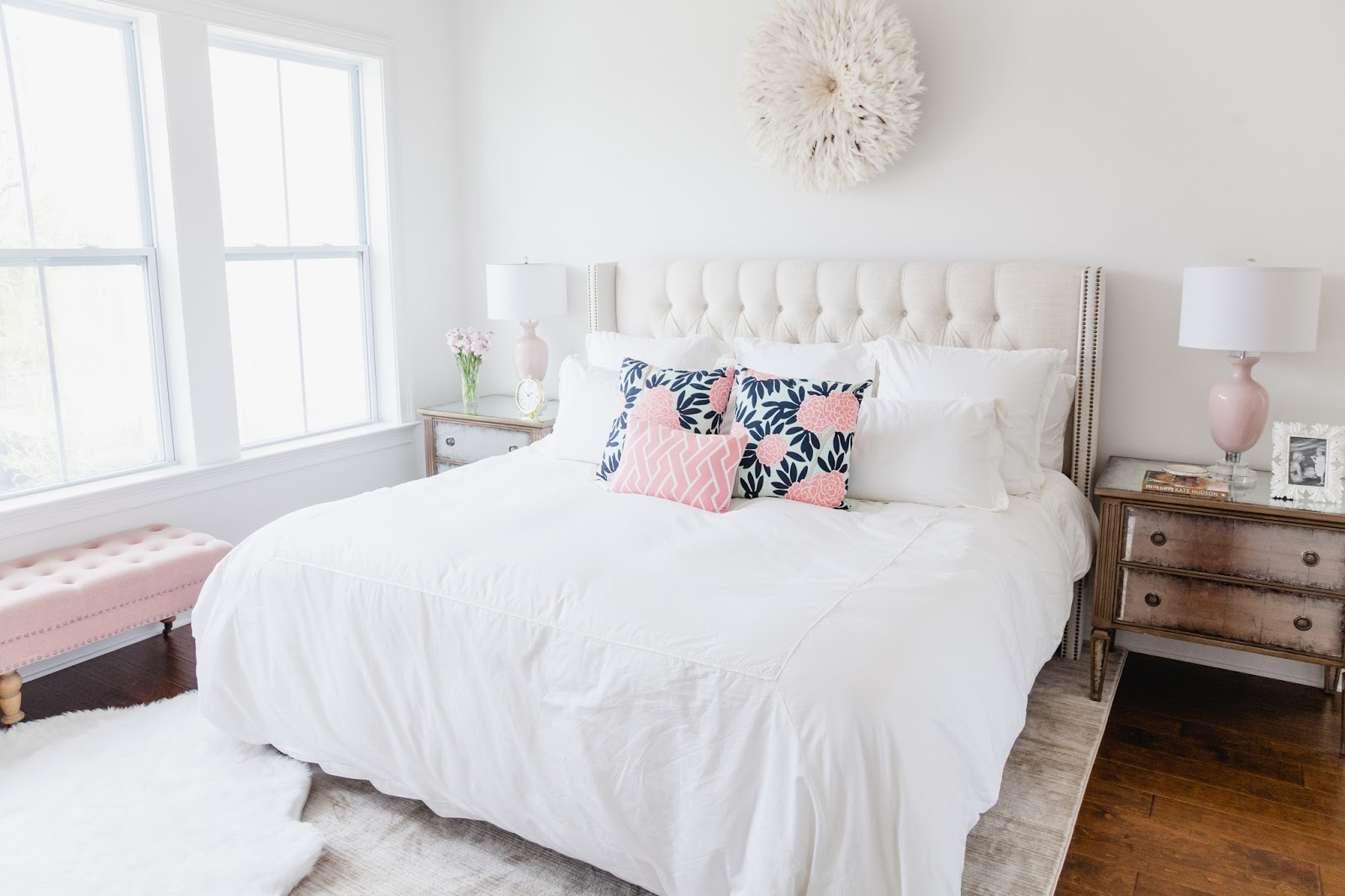 Master Bedroom Reveal Hanging with the Hewitts