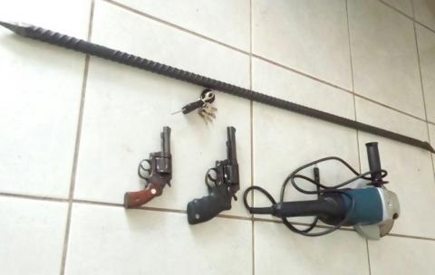 Polícia Civil impede assalto a banco em Capitão Poço