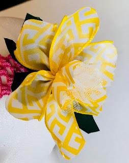 spring daffodil headband