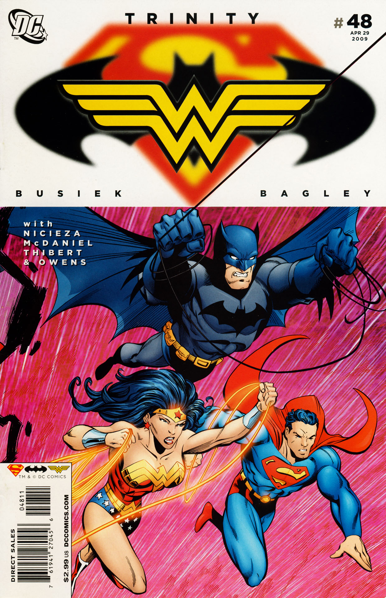 Read online Trinity (2008) comic -  Issue #48 - 1