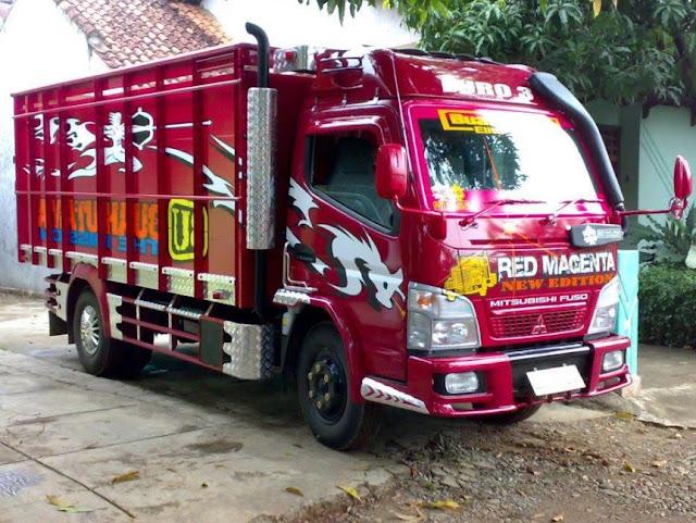 gambar truk fuso full variasi
