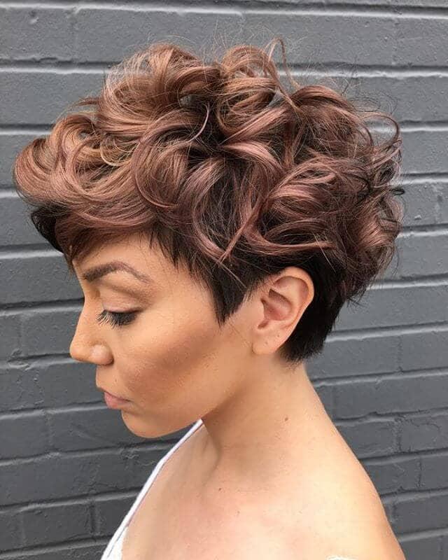 short curly hair 2018