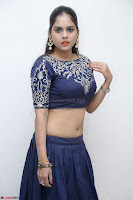 Ruchi Pandey in Blue Embrodiery Choli ghagra at Idem Deyyam music launch ~ Celebrities Exclusive Galleries 086.JPG