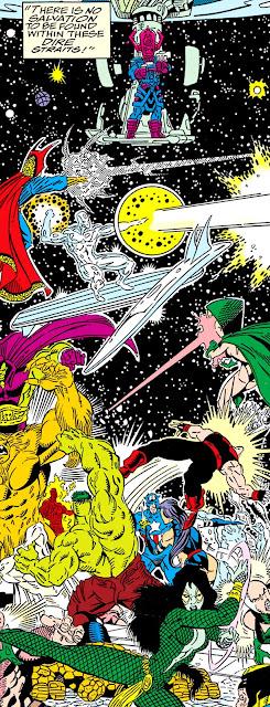 Llega la ayuda comandados por Galactus