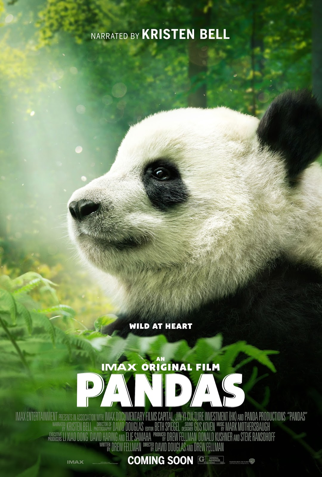Chiil mama imax documentary pandas narrated by kristen bell begins imax corporation nyseimax and warner bros pictures announced that kristen bell frozen tvs the good place will narrate the latest imax documentary fandeluxe Images