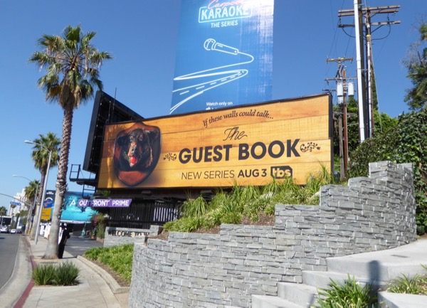 Guest Book series premiere billboard