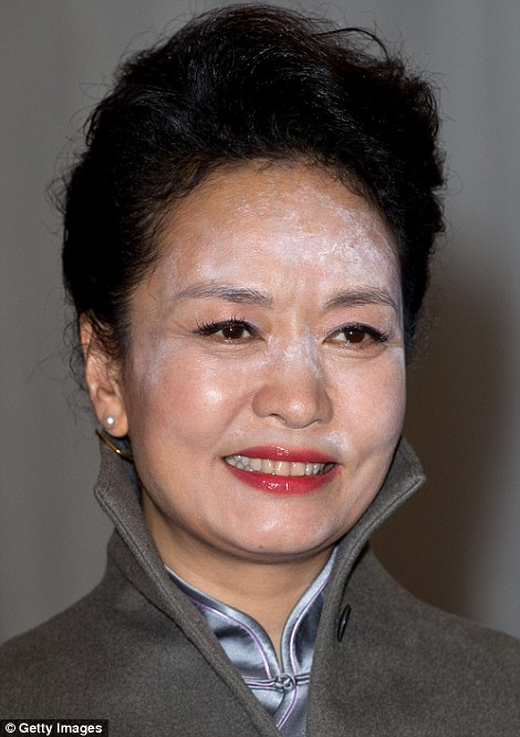 chinese first lady powder london