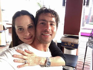 Max And his wife Giulia Loving Up