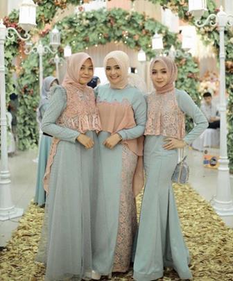Model Baju Kebaya Terbaru Untuk Muslimah Berhijab