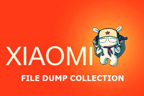 All Model File Dump EMMC Xiaomi