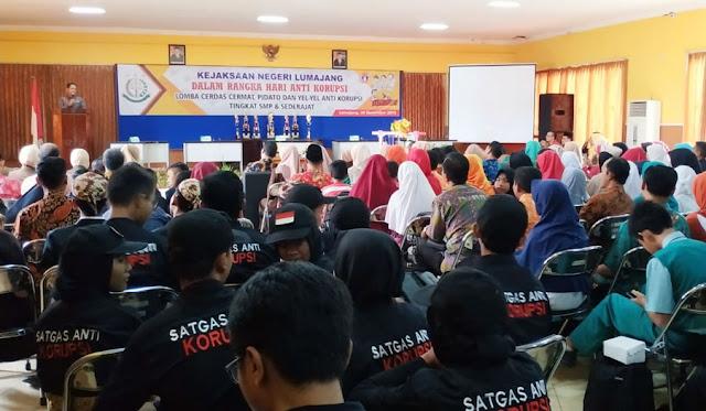 Lomba Cerdas Cermat, Pidato dan Yel-yel Anti Korupsi Tingkat SMP dan sederajat