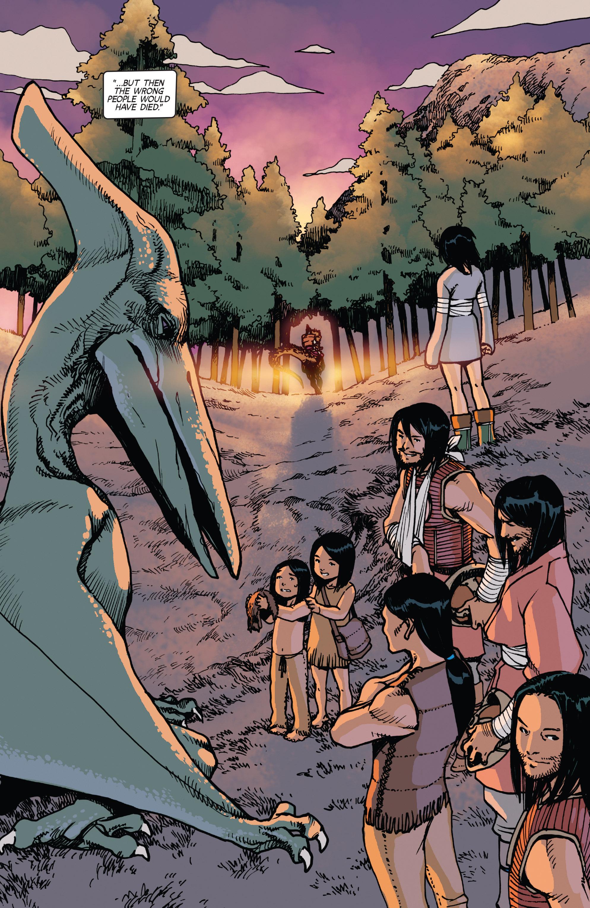 Read online Turok: Dinosaur Hunter (2014) comic -  Issue # _TPB 2 - 85