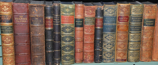 Lighthouse Books, ABAA: All Charles Dickens. All first editions.