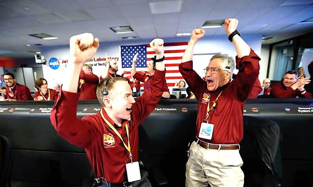 NASA: El aterrizaje exitoso de InSight en Marte