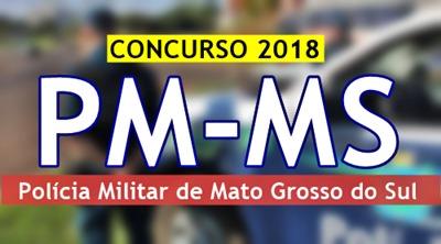 Concurso Polícia Militar de Mato Grosso do Sul PM-MS 2018