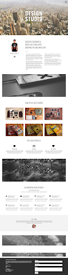 Studio One Page Theme One Page Bootstrap Free Template