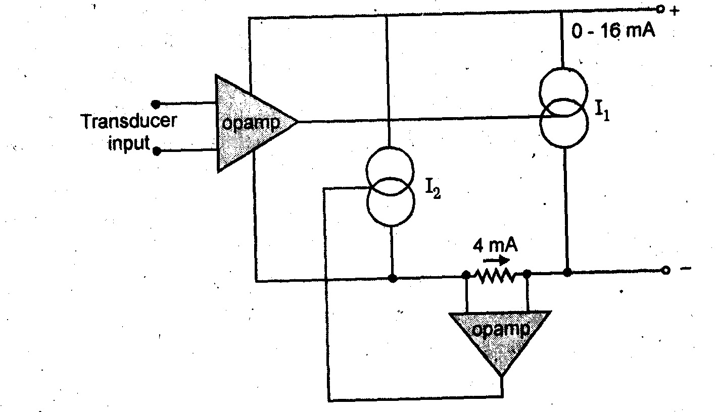 the load current current to voltage converters using op amp