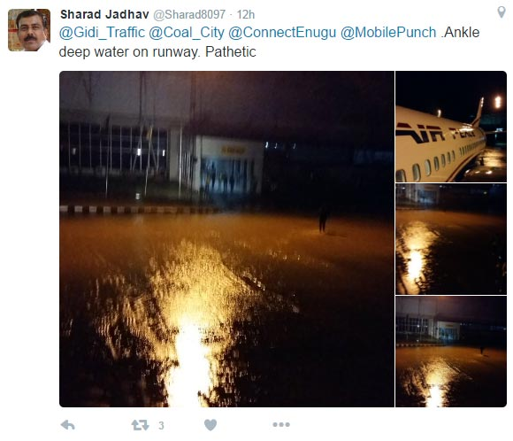 Embarrassment as Indian man complains of bad state of Enugu Airport