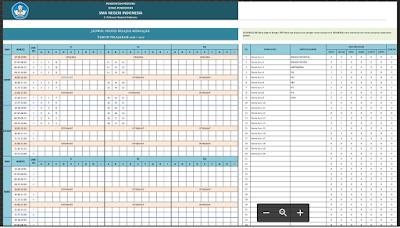 Aplikasi Excel Membuat Jadwal Pelajaran Secara Otomatis Tanpa Bentrok 2015