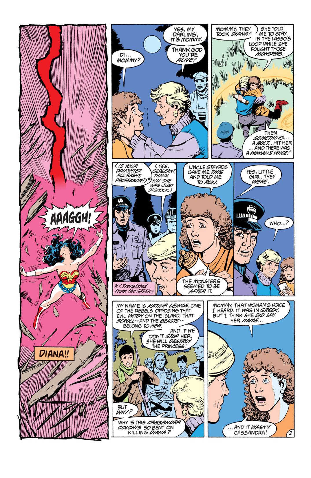 Read online Wonder Woman (1987) comic -  Issue #19 - 3