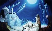 C'est cette «  Conscience Suprême et Eternelle » qui permet à l'esprit humain, comme le dit David : «  d'élever son âme Vers l'Eternel (b) ». C'est L'Arbre De Vie En Chaque Vie où les yeux s'ouvrent à la prise De « Conscience (b') », et au « Discernement (e) ».