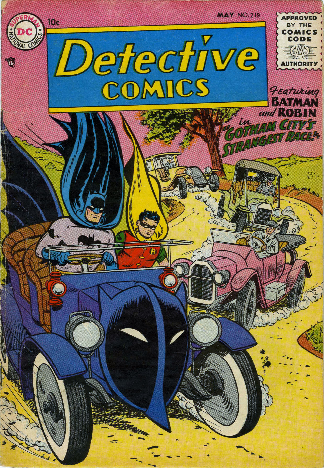 Read online Detective Comics (1937) comic -  Issue #219 - 1