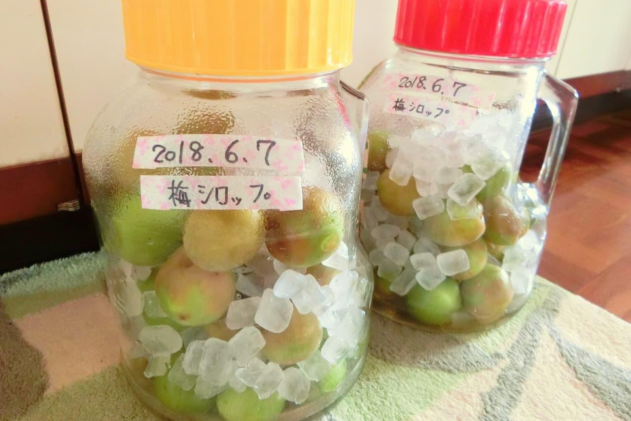 梅 シロップ の 作り方