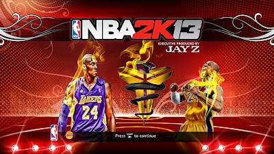 NBA 2K13 The Black Mamba Titlescreen Patch