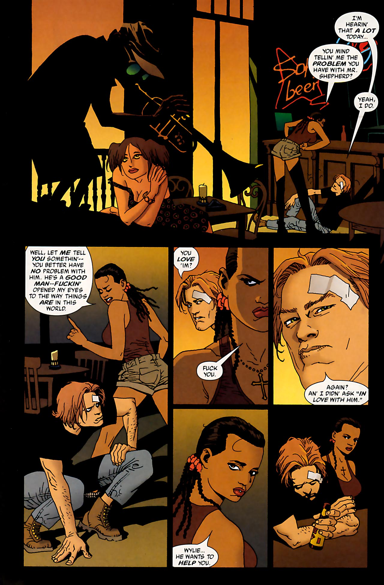 Read online 100 Bullets comic -  Issue #53 - 21