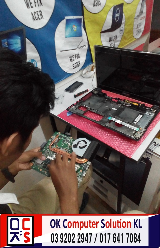 [SOLVED] STUCK AT WINDOWS ASUS A43S | REPAIR LAPTOP CHERAS 11