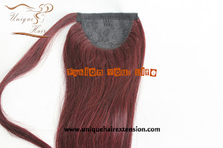 100% European hair extensions