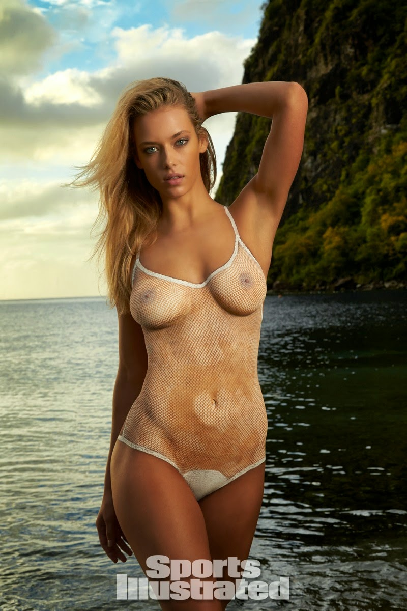 Hannah Ferguson Swimsuit Body Paint-4784