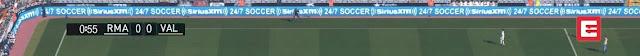 PES 2016 La Liga 2016-2017 Scoreboard