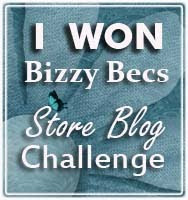 I won at Bizzy Bec's!