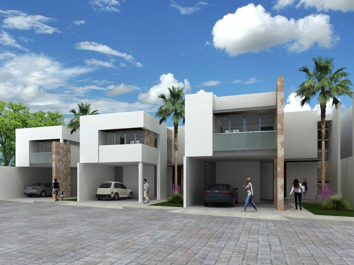 Fachadas de casas modernas febrero 2013 for Casa minimalistas