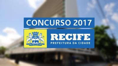Concurso Prefeitura de Recife 2017