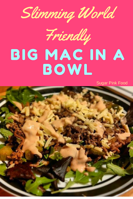 Slimming World Big Mac in a Bowl slimming world
