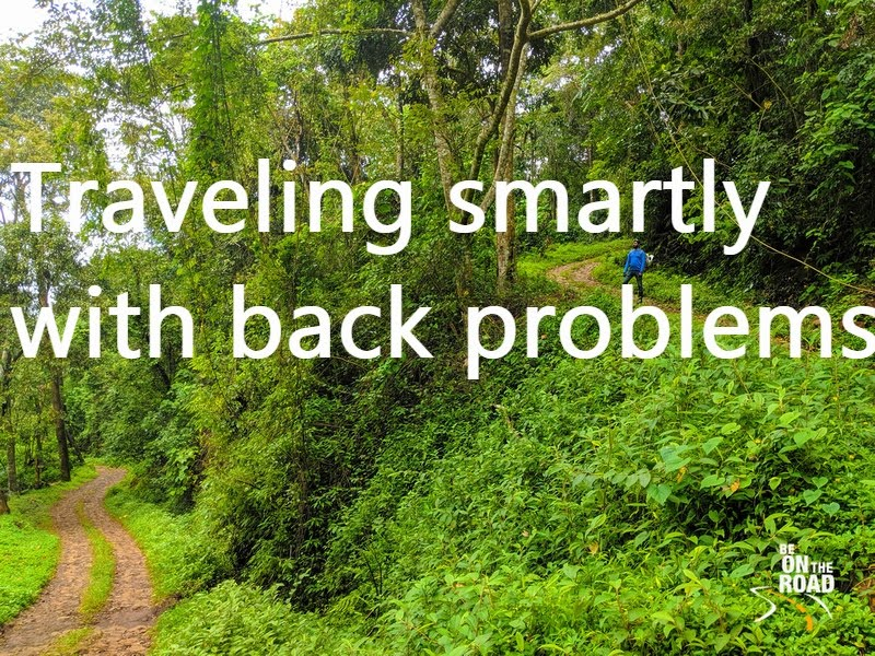 How to travel smartly with back pain