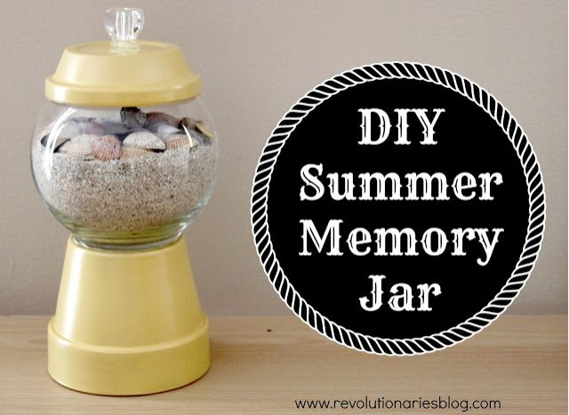 DIY Summer Memory Jar