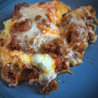spaghetti squash casserole, spaghetti squash, recipe, low carb, lchf, keto, ketogenic, ketosis, jaime messina, low carb pasta, keto dinner