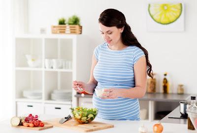أكل الخضروات للحامل