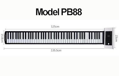Đàn Piano Cuộn STARMART MODEL PB88  Bán Chạy Nhất Hiện Nay