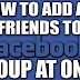 How to add All Friends to Facebook group in Just One Click