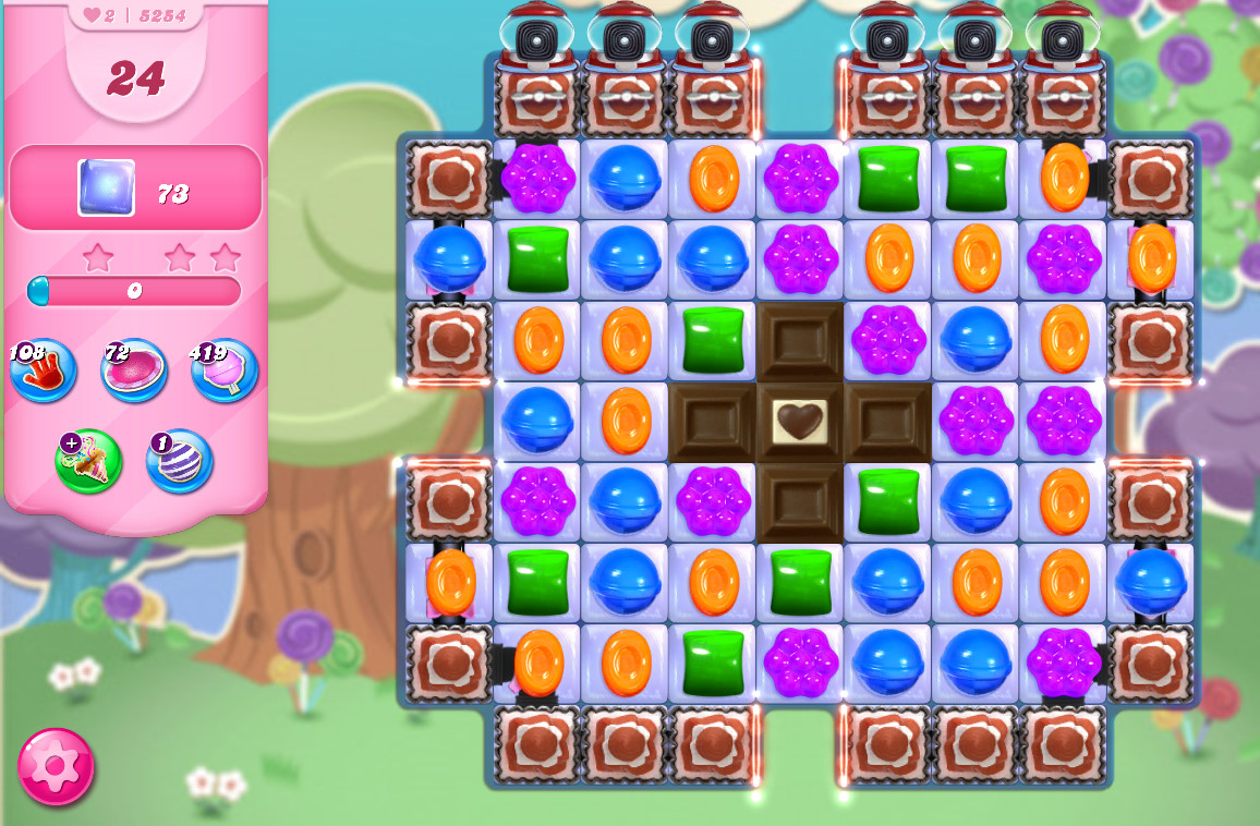 Candy Crush Saga level 5254