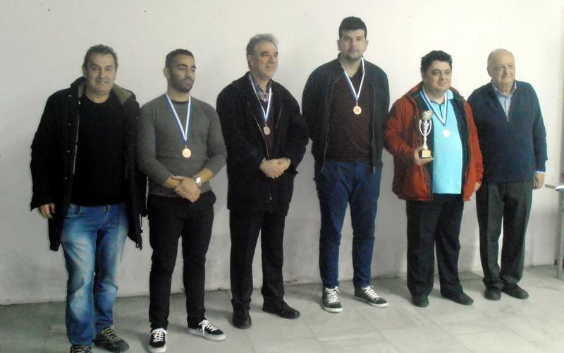 Στο βάθρο των νικητών ο Εθνικός Αλεξανδρούπολης στο Ομαδικό Πρωτάθλημα Γρήγορου Σκακιού Περιφέρειας ΑΜ-Θ